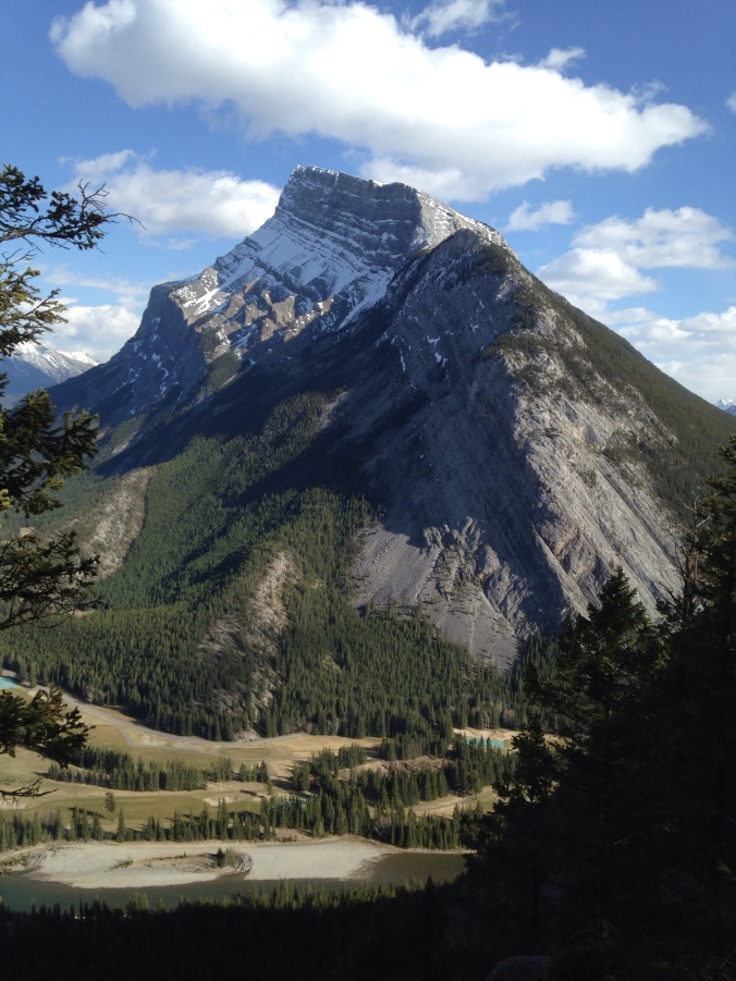 Rundle... my goal is to hike this mountain this summer...